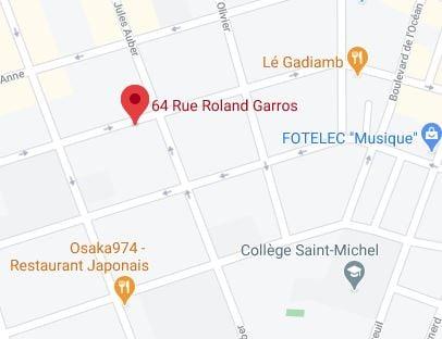 64 rue roland garros