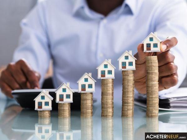 Différence de prix des appartements