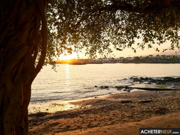 coucher de soleil terre-sainte